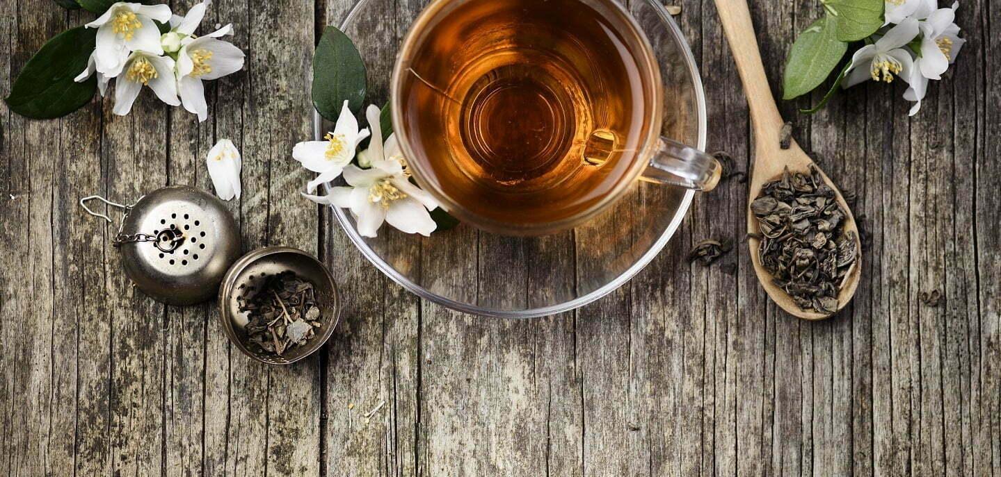 Green And Jasmine Tea